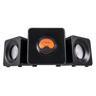 Ashdown Meters Cubed Bluetooth Home Micro Audio System, Black