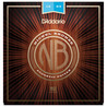 D'Addario Nickel Bronze Acoustic Guitar Strings, Light, 12-53