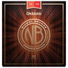 D'Addario Nickel Bronze Acoustic Guitar Strings Medium 13-56