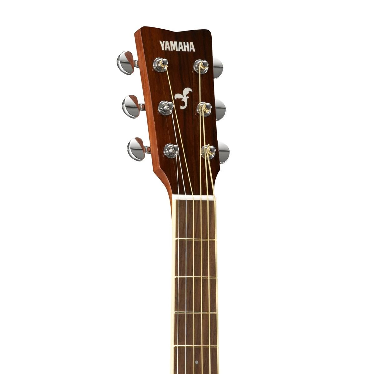 yamaha fg820l left handed acoustic guitar natural at gear4music. Black Bedroom Furniture Sets. Home Design Ideas