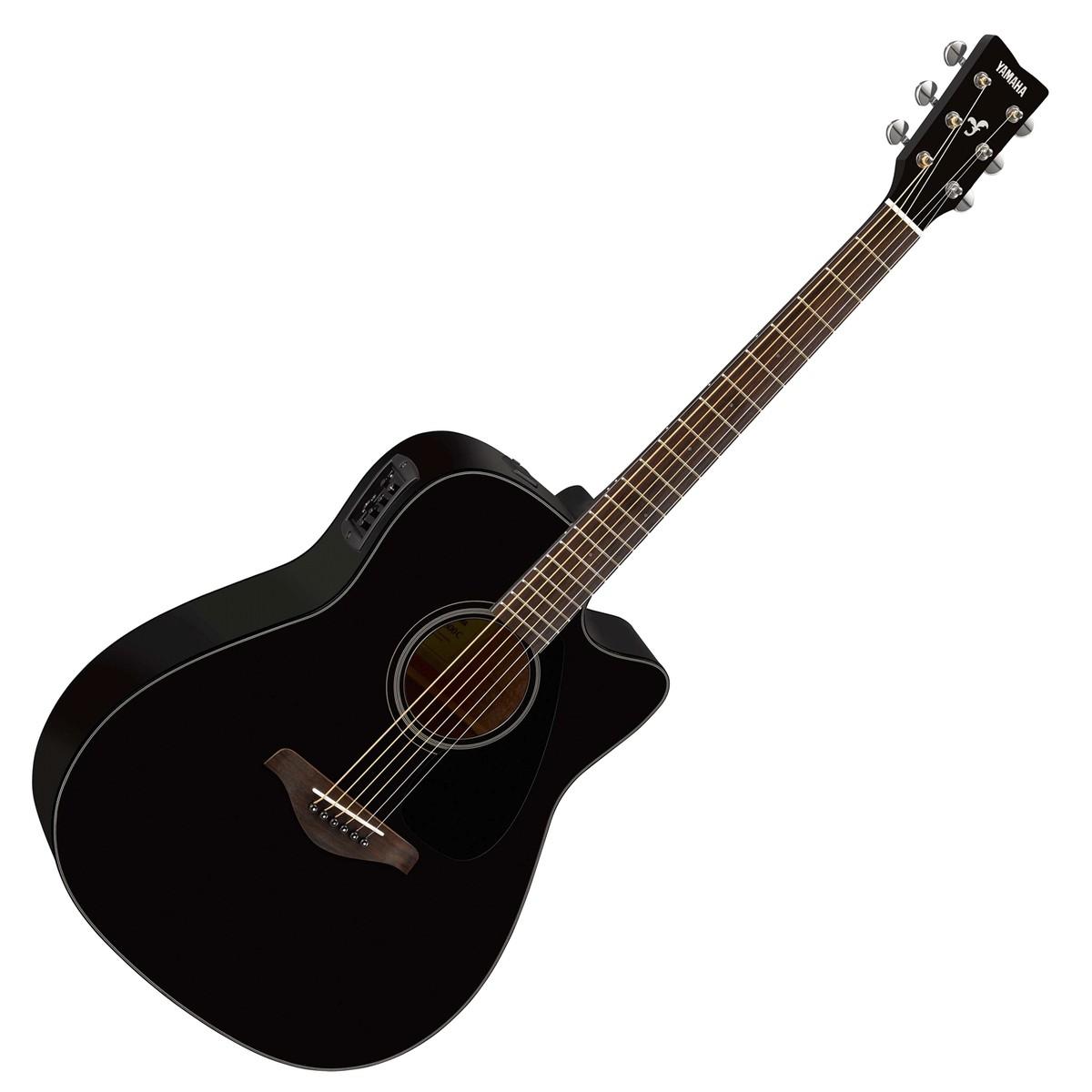 yamaha fgx800c electro acoustic guitar black at. Black Bedroom Furniture Sets. Home Design Ideas