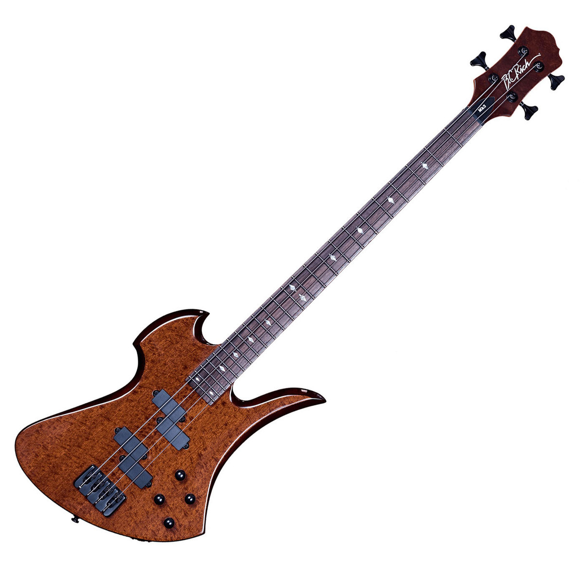 offline bc rich mockingbird mk3 bass quilted mahogany at gear4music. Black Bedroom Furniture Sets. Home Design Ideas