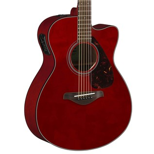 Yamaha FSX800C Electro Acoustic Guitar, Ruby Red