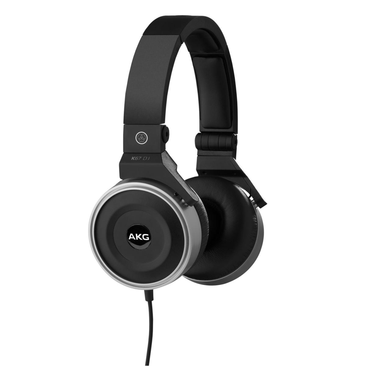akg k67 on ear dj headphones at gear4music. Black Bedroom Furniture Sets. Home Design Ideas
