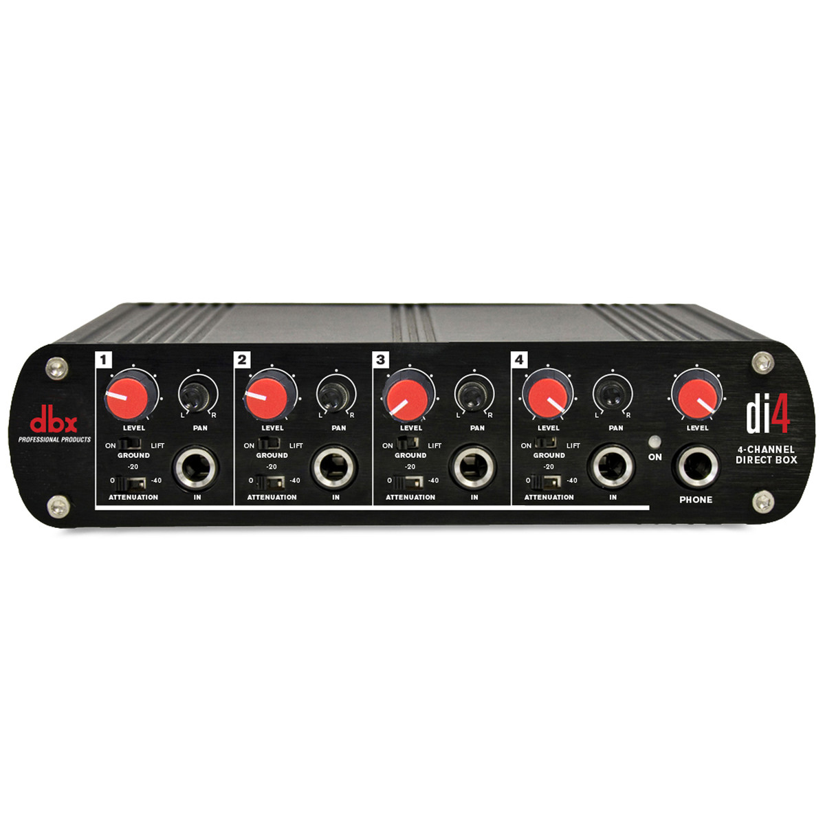 Click to view product details and reviews for Dbx Di4 Four Channel Active Di Box.