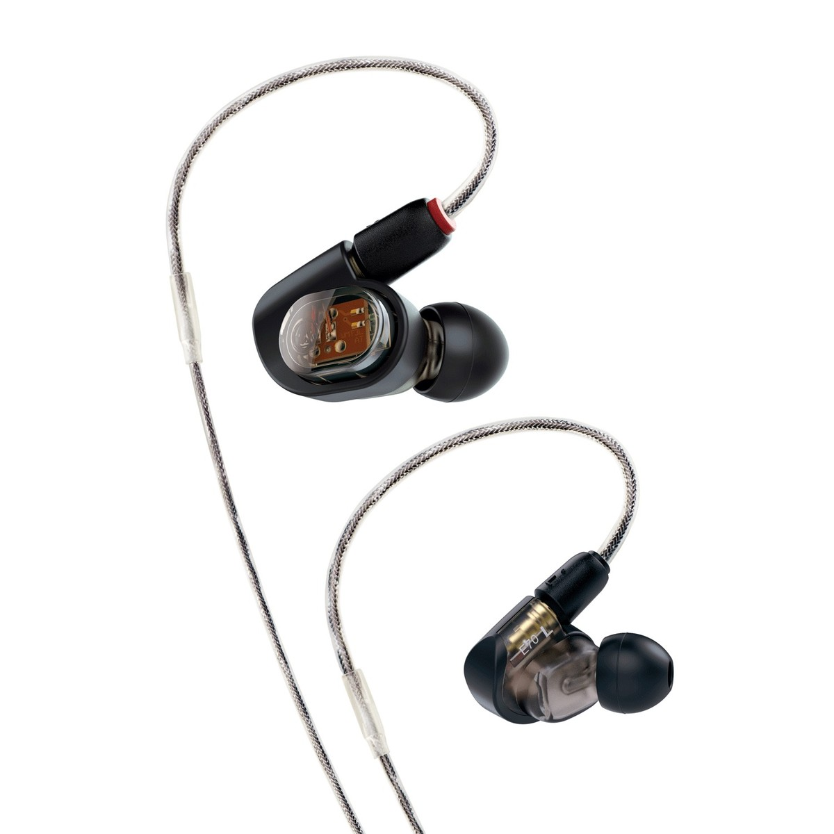 audio technica ath e70 professional in ear monitor earphones at gear4music. Black Bedroom Furniture Sets. Home Design Ideas