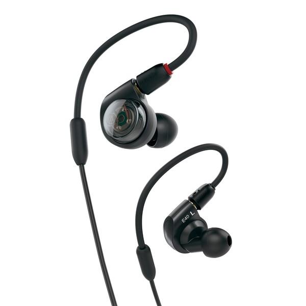 Audio Technica ATH-E40 Professional In-Ear Monitor Earphones