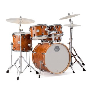 Mapex Storm 22'' Rock Fusion Drum Kit w/ Hardware, Camphor Wood Grain