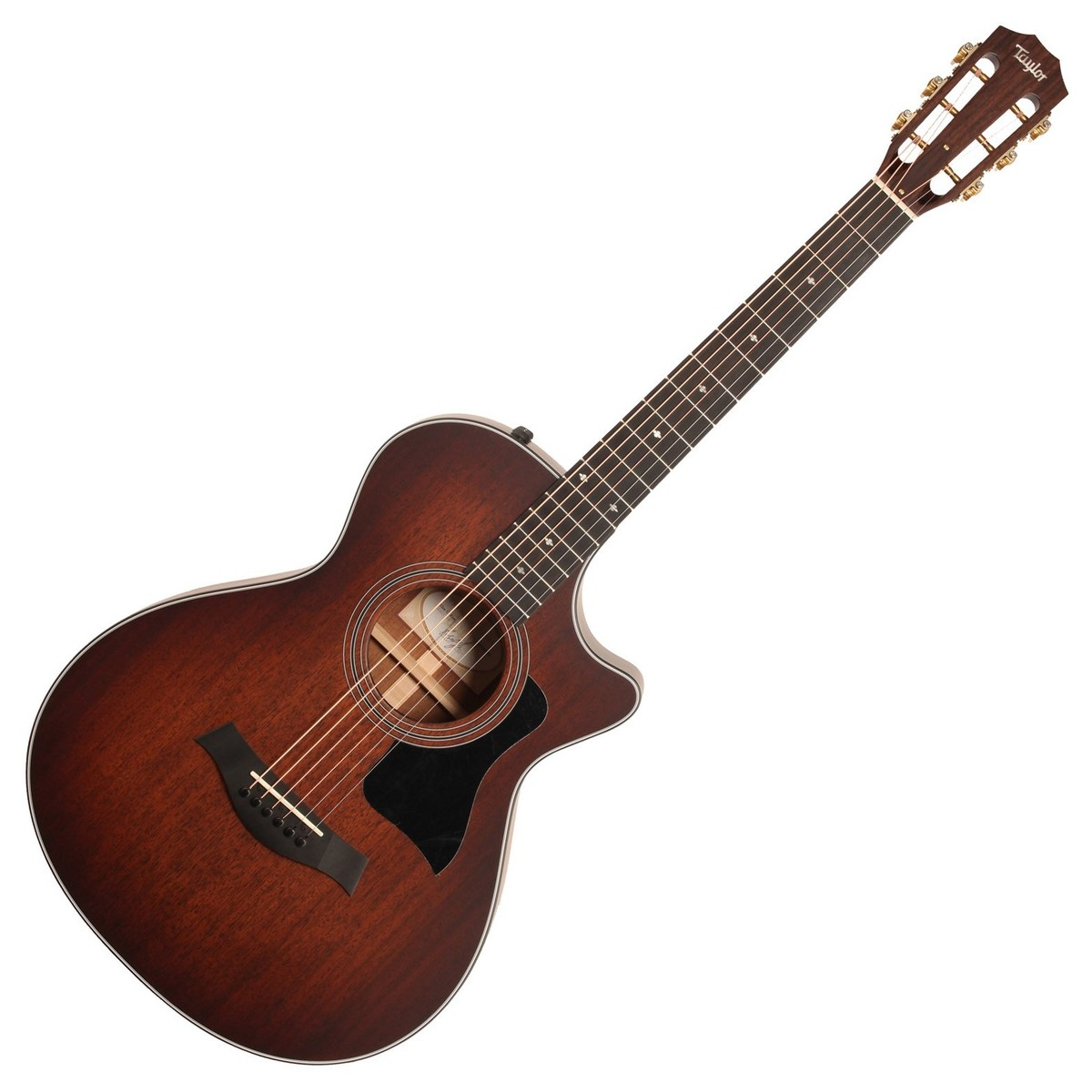 taylor 322ce 12 fret grand concert electro acoustic guitar at gear4music