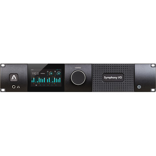 Apogee Symphony I/O MKII Thunderbolt Chassis with 8x8 Analog I/O - Front View