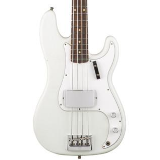 Fender Custom Shop Journeyman Relic Postmodern Bass, Olympic White