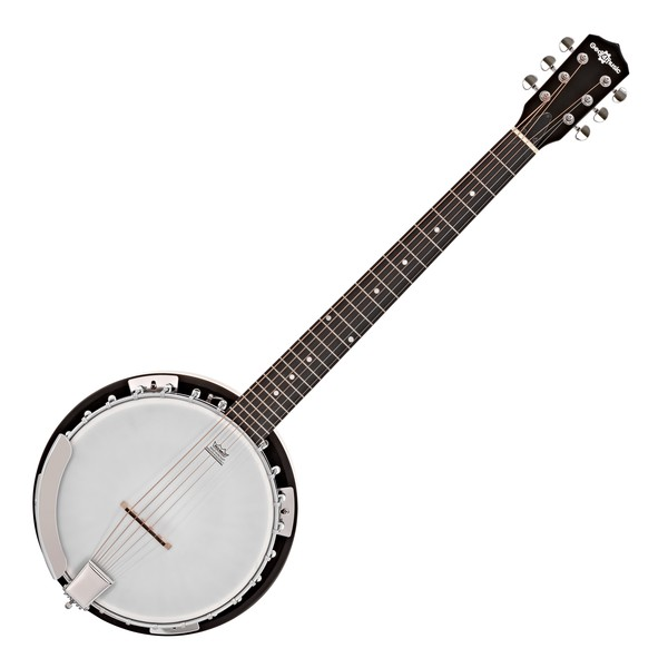 6 String Guitar Banjo by Gear4music Main