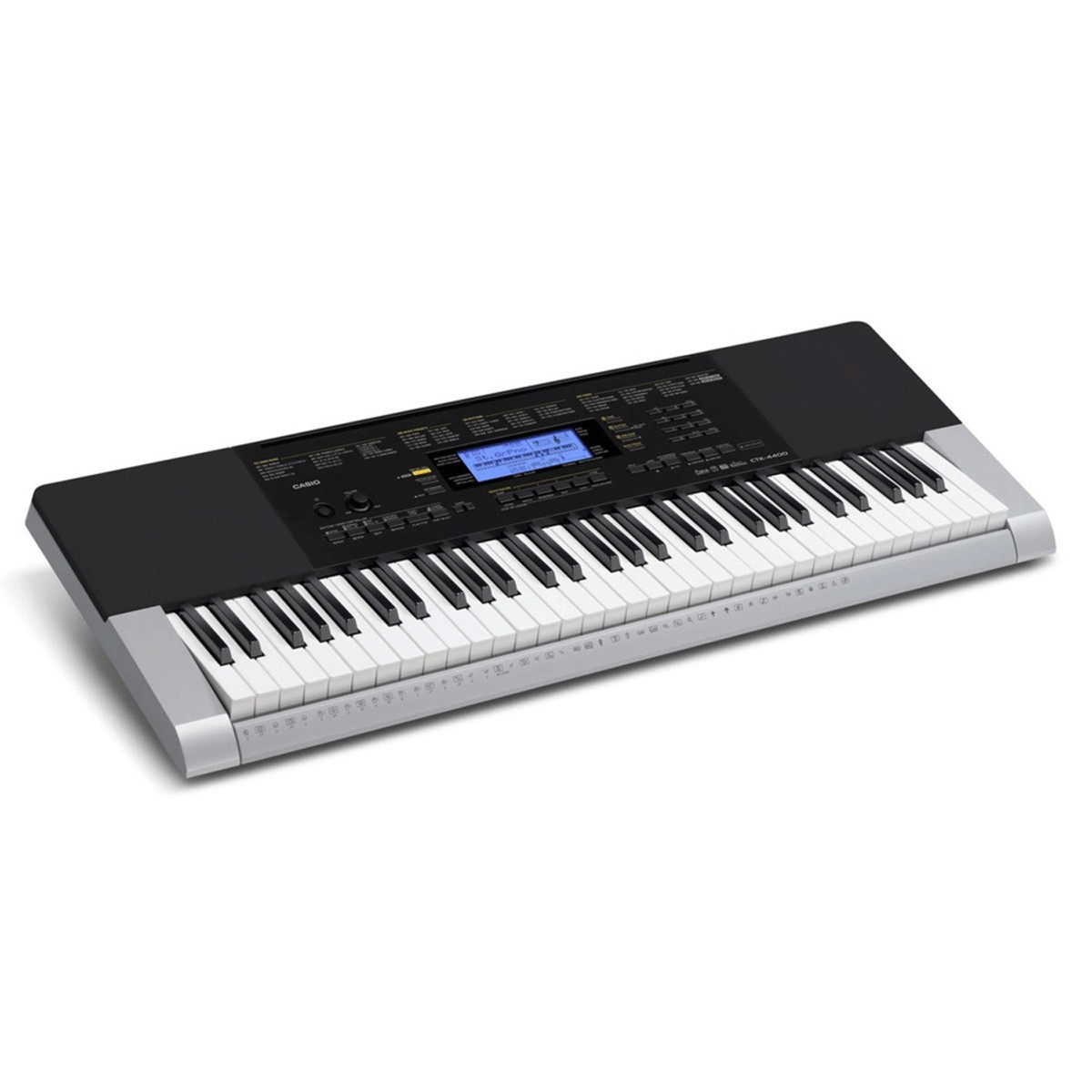 Casio Ctk 4400 Portable Keyboard Package At Gear4music