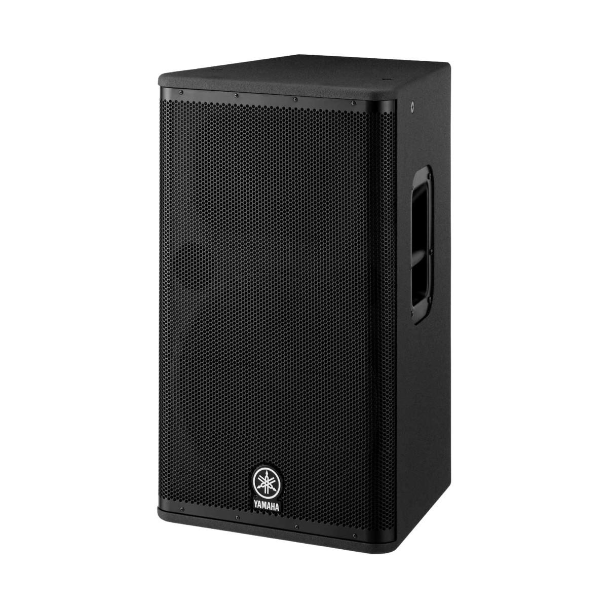 Yamaha dsr115 active pa bundle with speaker stands at for Yamaha dj speaker