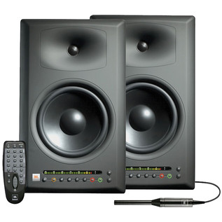 JBL LSR4328 PAK Bi-Amplified Studio Monitor System