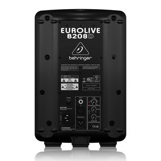 Behringer B208D Eurolive Active PA Bundle