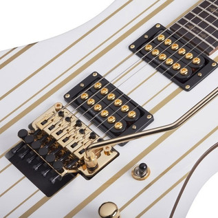 Schecter Synyster Standard Electric Guitar, White Gold