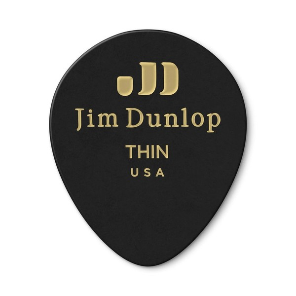 Dunlop Celluloid Teardrop Player Pack Of 12 (Thin) - Pack
