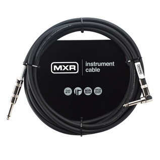 MXR Standard Instrument Cable, 20ft Right Angled