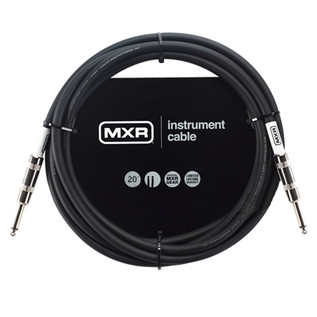MXR Standard Instrument Cable, 20ft Straight