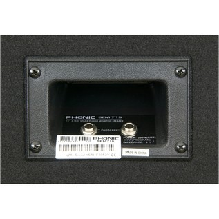 Phonic SEM715 Passive PA Speaker, Pair