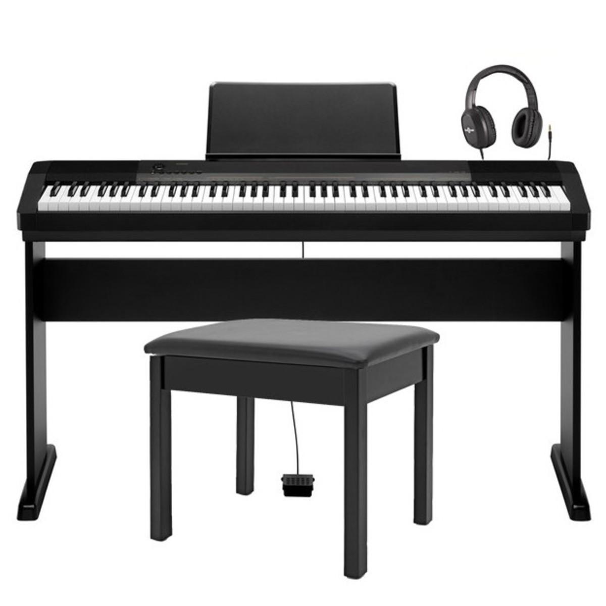 casio cdp 130 piano digital compacto com suporte banco e auscultadores na. Black Bedroom Furniture Sets. Home Design Ideas