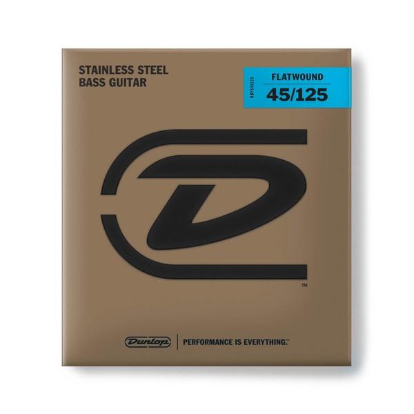 Dunlop Flatwound Bass Strings Md-5/Set