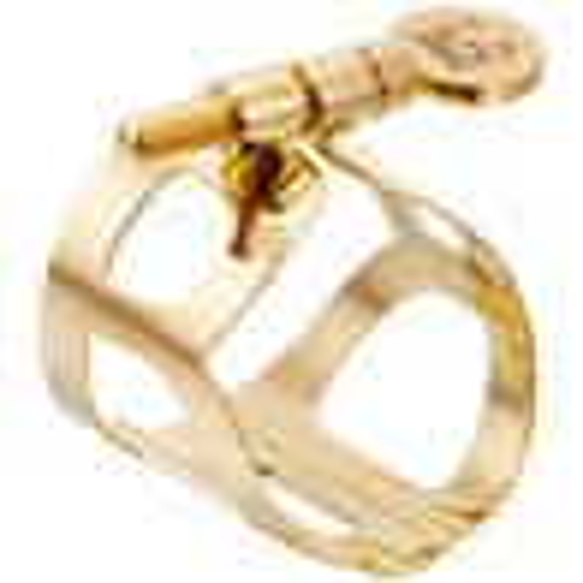 BG Altsaxofoon traditionele ligatuur, goud