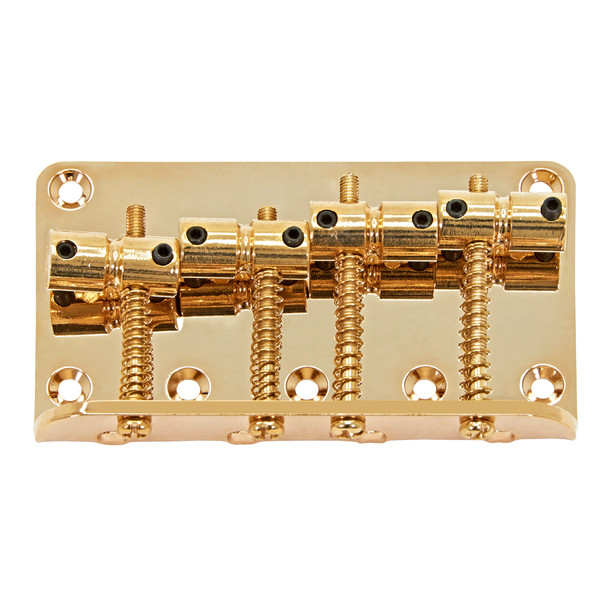 Bass Guitar Bridge, Gold