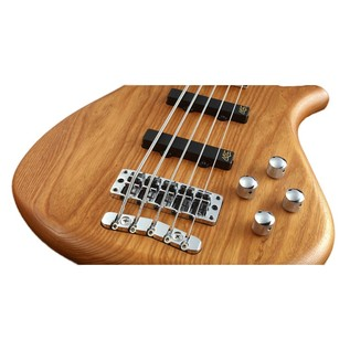 Warwick Rockbass Fortress 5-String Bass, Honey