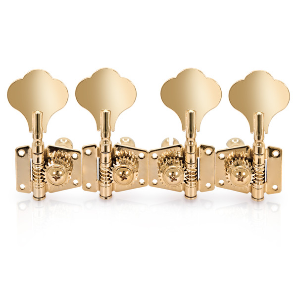 Bass Guitar Machine Head, 2-in-line, Gold