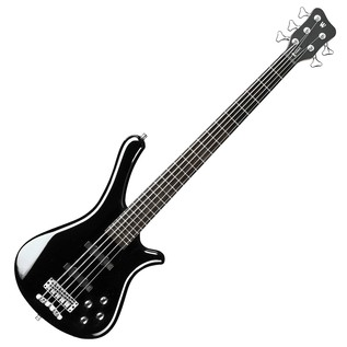Warwick Rockbass Fortress 5-String Bass, Black