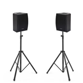 Phonic iSK 8A Deluxe Active Loudspeakers and Stands