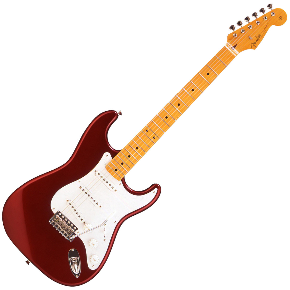Fender Fsr Classic 50s Texas Special Stratocaster Candy Apple Red