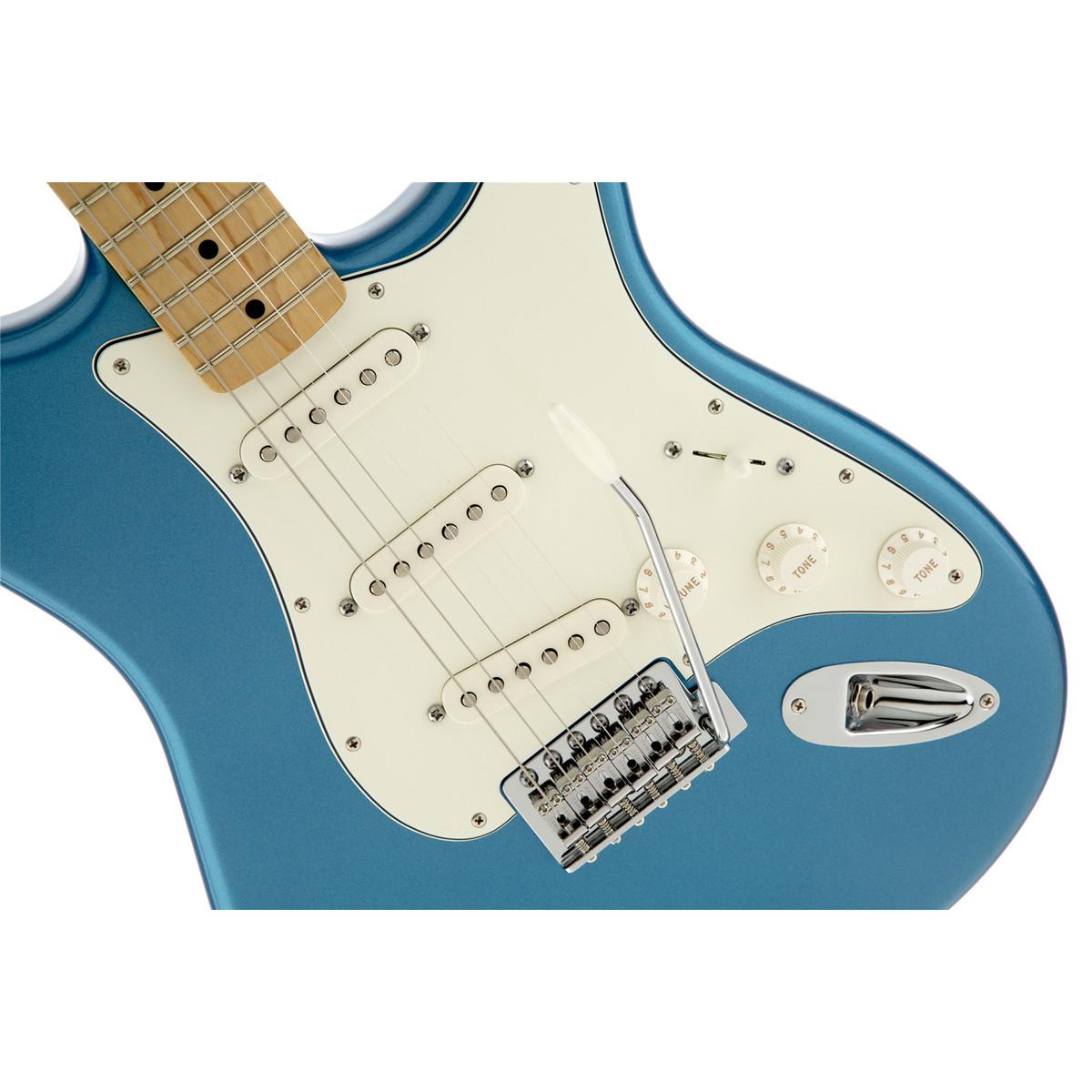 DISC Fender Standard Stratocaster MN, Lake Placid Blue at Gear4music