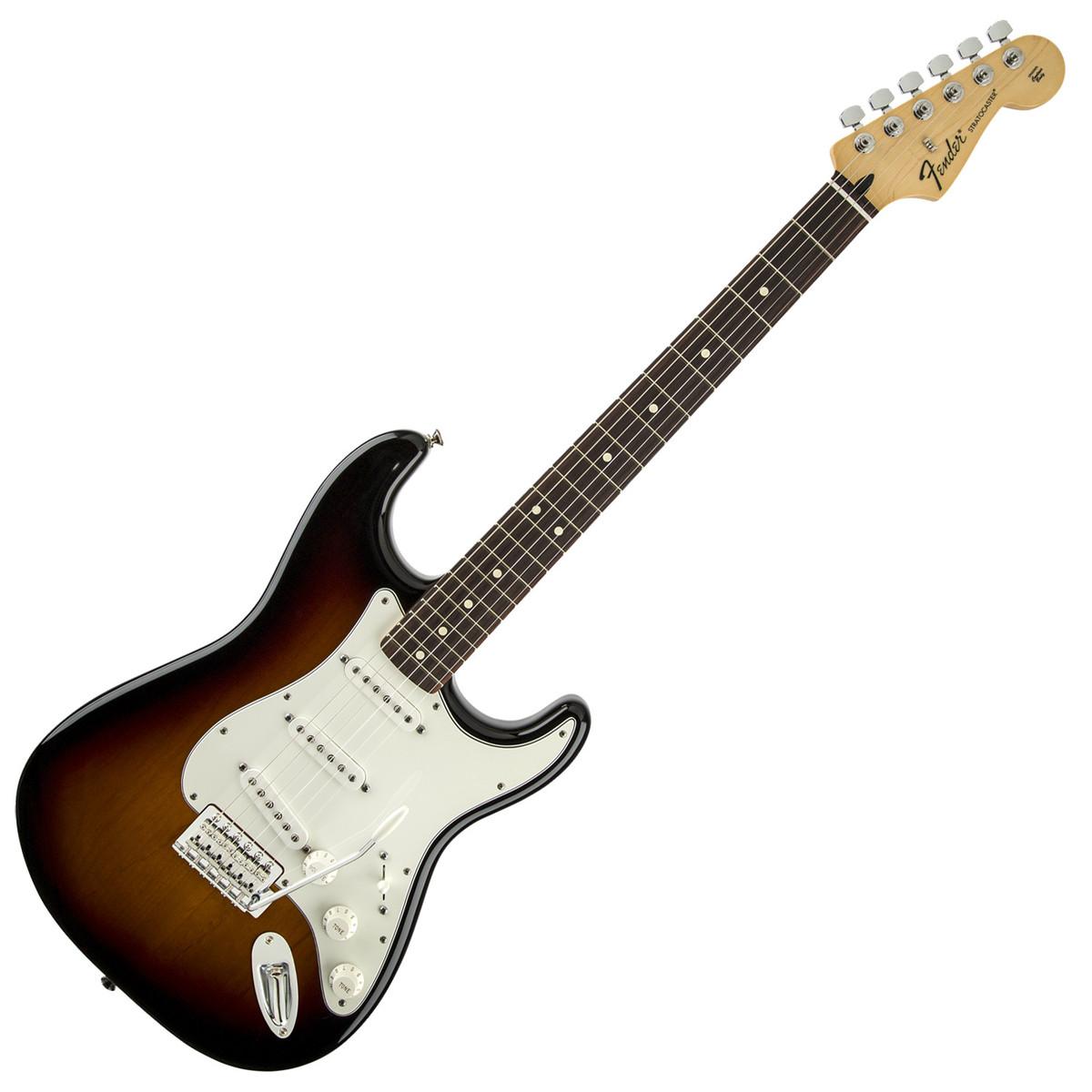 fender standard stratocaster rw brown sunburst at gear4music. Black Bedroom Furniture Sets. Home Design Ideas