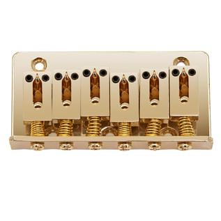 Hardtail Guitar Bridge, Gold