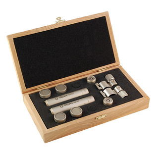 Oktava MK-12 MSP4 Condenser Microphones, Silver Matched Pair