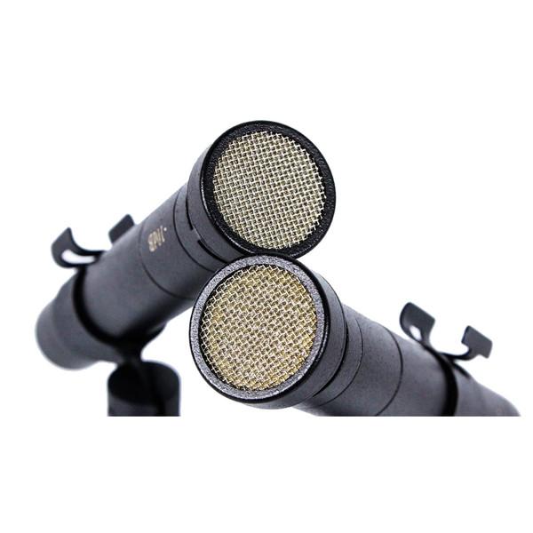 Oktava MK-12 MSP6 Condenser Microphones, Black Matched Pair