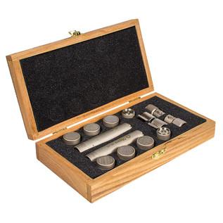 Oktava MK-12 MSP6 Condenser Microphones, Silver Matched Pair
