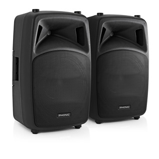 Phonic Jubi 12A 2-Way Active Loudspeaker, Pair