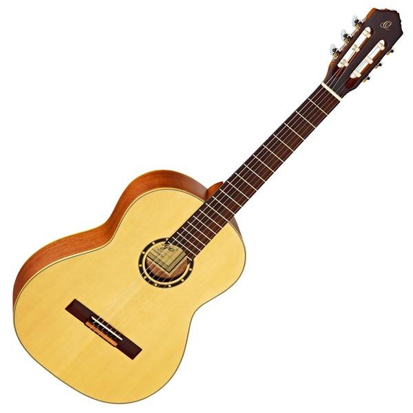 Ortega R121SN Classical Guitar, Spruce Top, Slim Neck