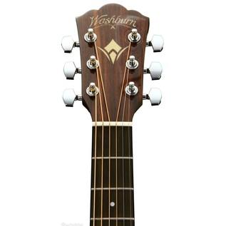 Washburn WLO12SE Electric Acoustic Guitar, Mahogany