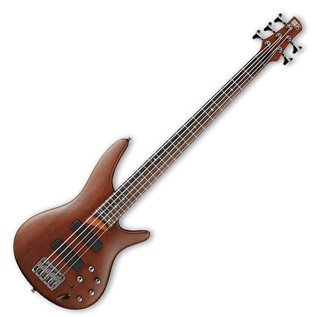 Ibanez SR505 Bass Guitar, Brown Mahogany