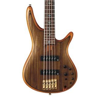 Ibanez SR1205 Premium 5-String Bass Guitar, Vintage Natural Flat