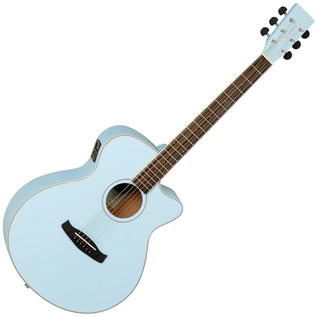 Tanglewood Discovery DBTSFCESBL Electro Acoustic Guitar, Surf Blue
