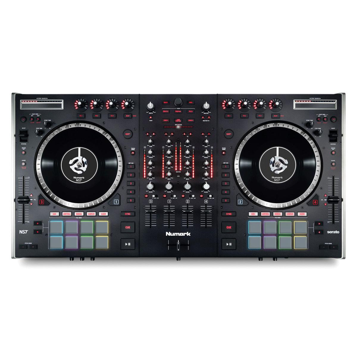 Numark NS7 II 4-Channel DJ Performance Controller - Ex Demo