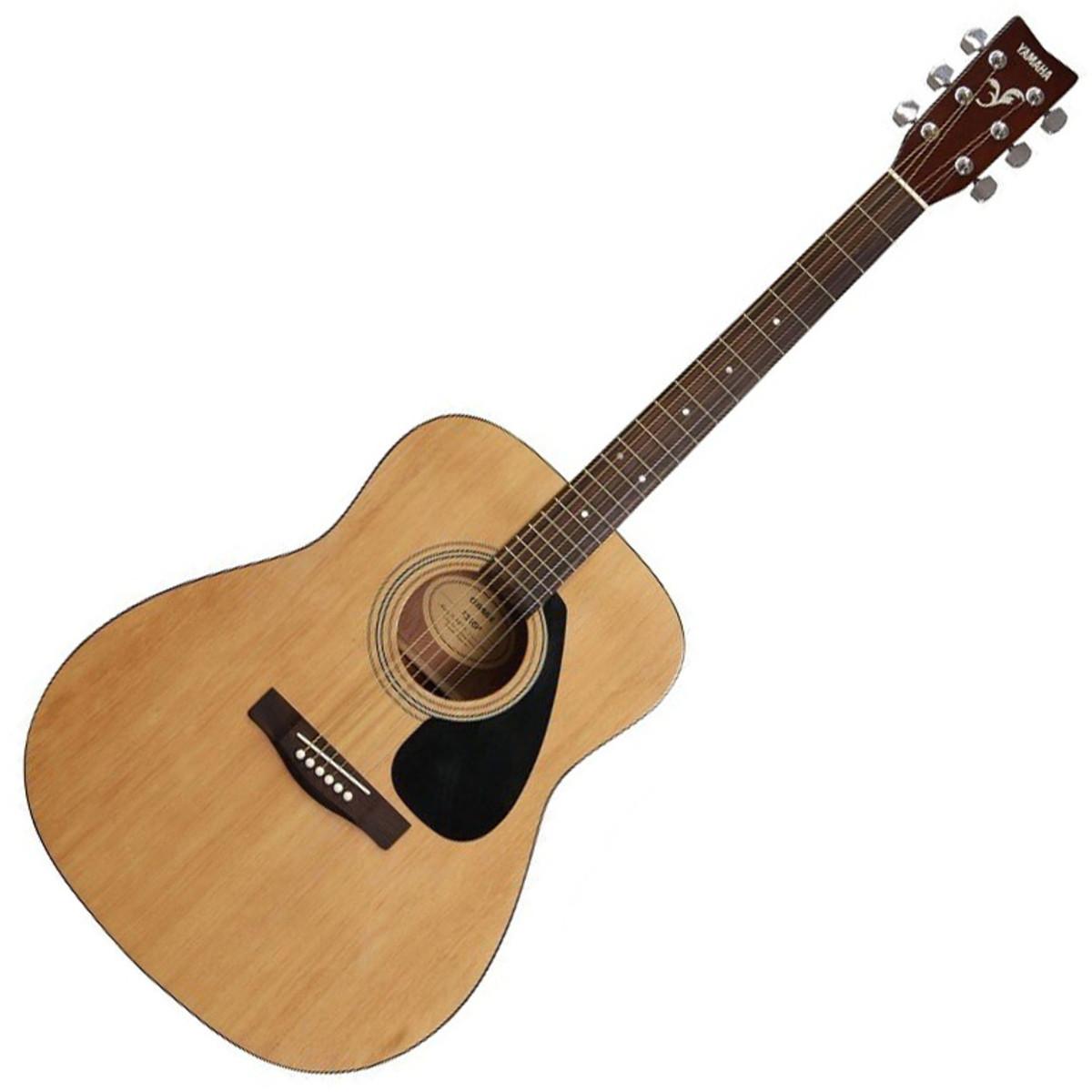 21b800d7b84 Yamaha F310 Acoustic Guitar, Natural - Nearly New. Loading zoom