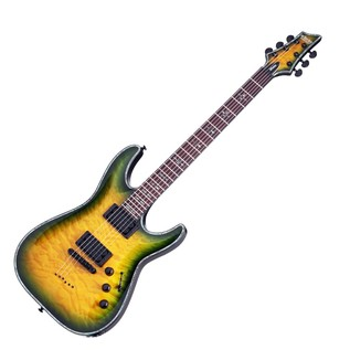 Schecter Hellraiser C-1 Limited Edition 2016, Dragon Burst