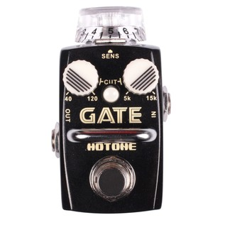 Hotone GATE True Bypass noise reduction stopbox for guitar or bass